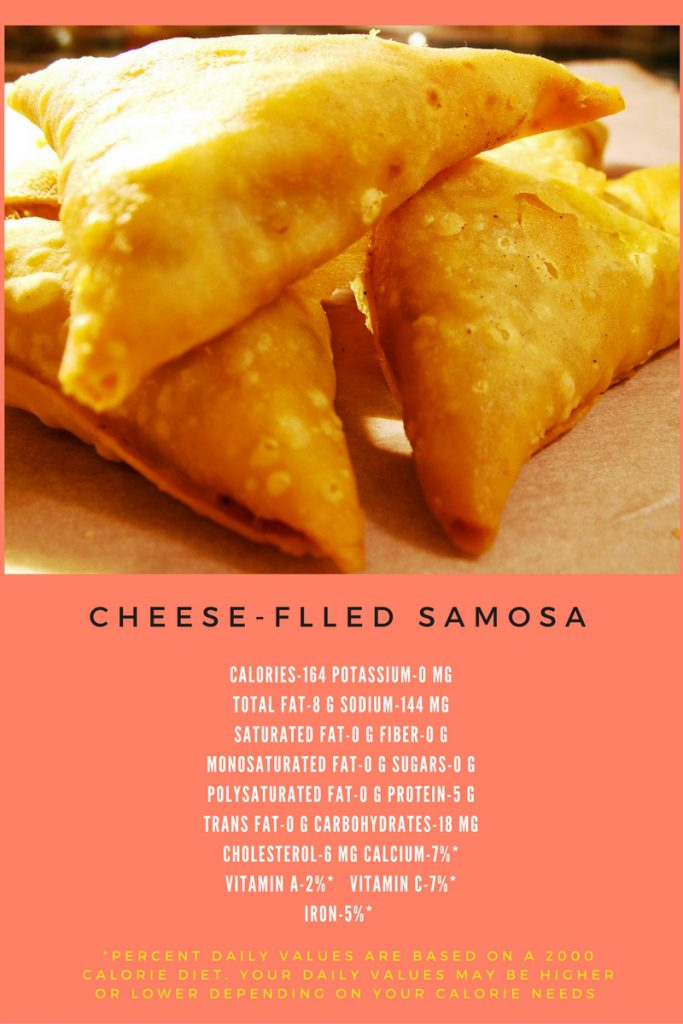 Samosa Filled with Cheese