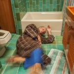 Strategies to prevent falls in the bathroom