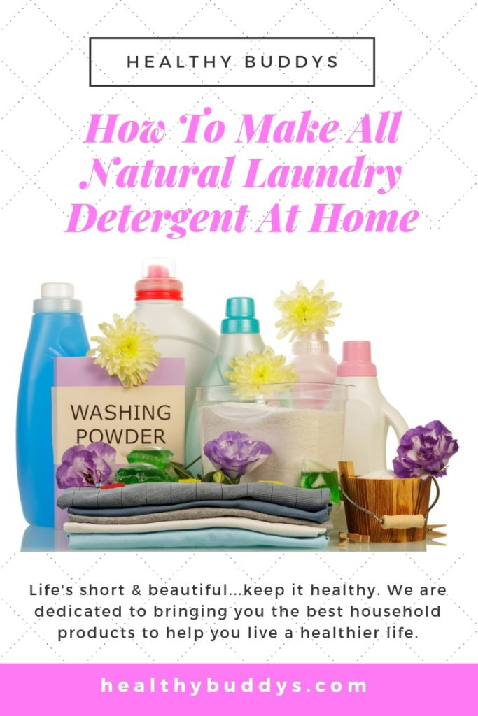 Pinterest all natural laundry detergent
