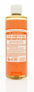 Castile Soap for All Natural Laundry Detergent at Home